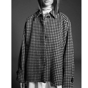 Plaid jacket made with wool blend - Valentino dupe